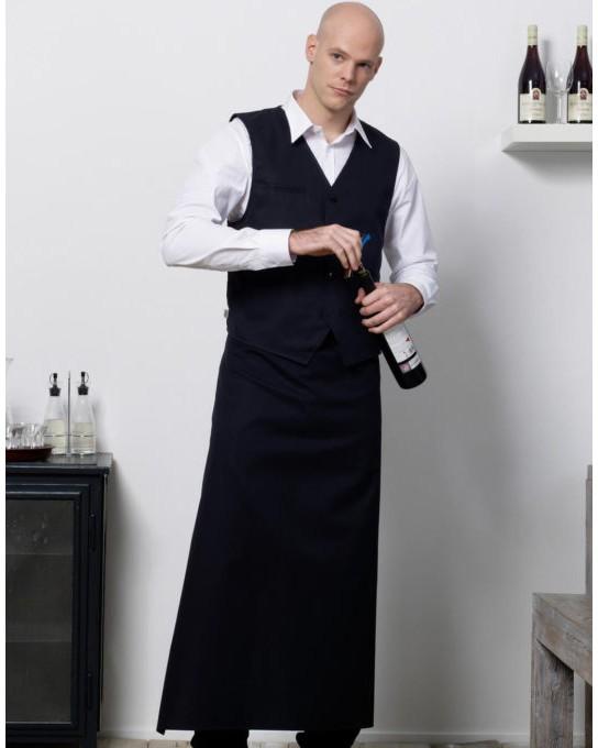 Długi fartuch kelnerski London, Bistro by JASSZ